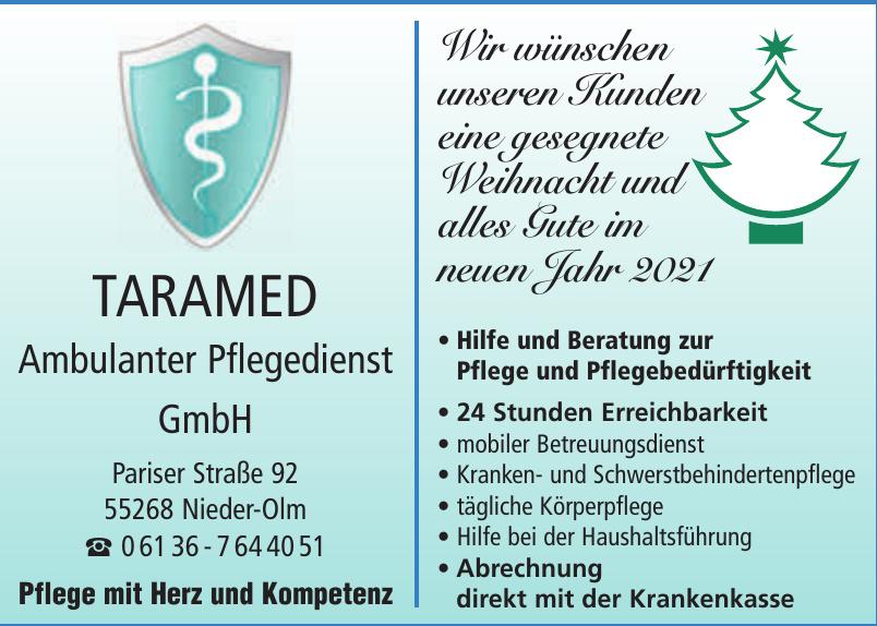 Taramed Ambulanter Pflegedienst GmbH