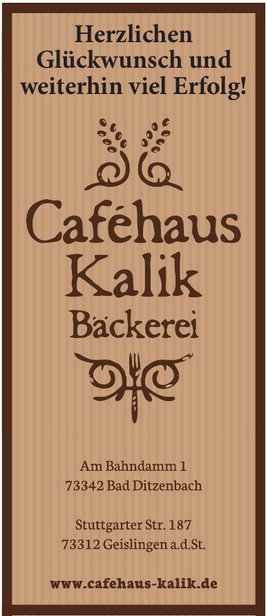 Caféhaus Kalik - Bäckerei