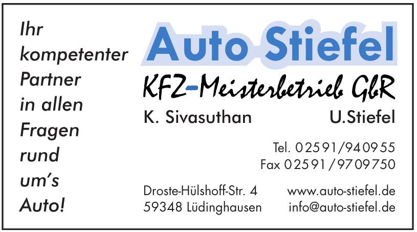 Auto Stiefel KFZ - Meisterbetrieb