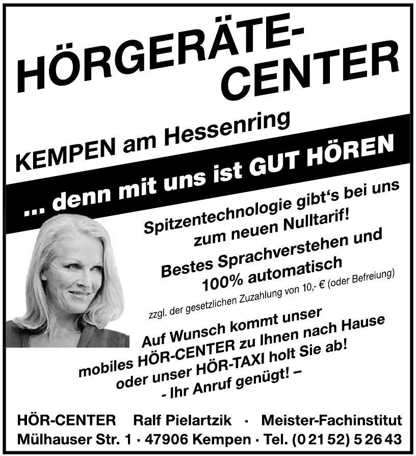 Hör-Center Ralf Pielartzik Meister-Fachinstitut