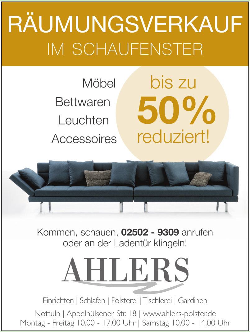 Ahlers Polster