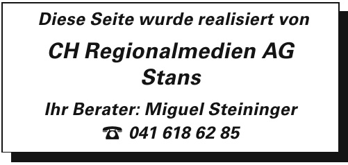 CH Regionalmedien AG Stans