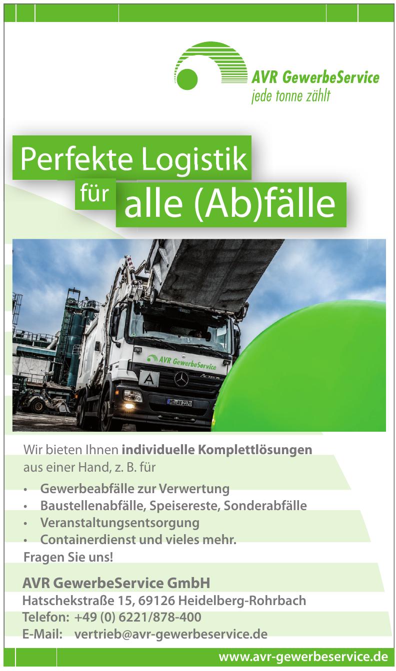 AVR GewerbeService GmbH