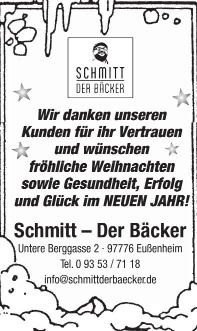 Schmitt – Der Bäcker