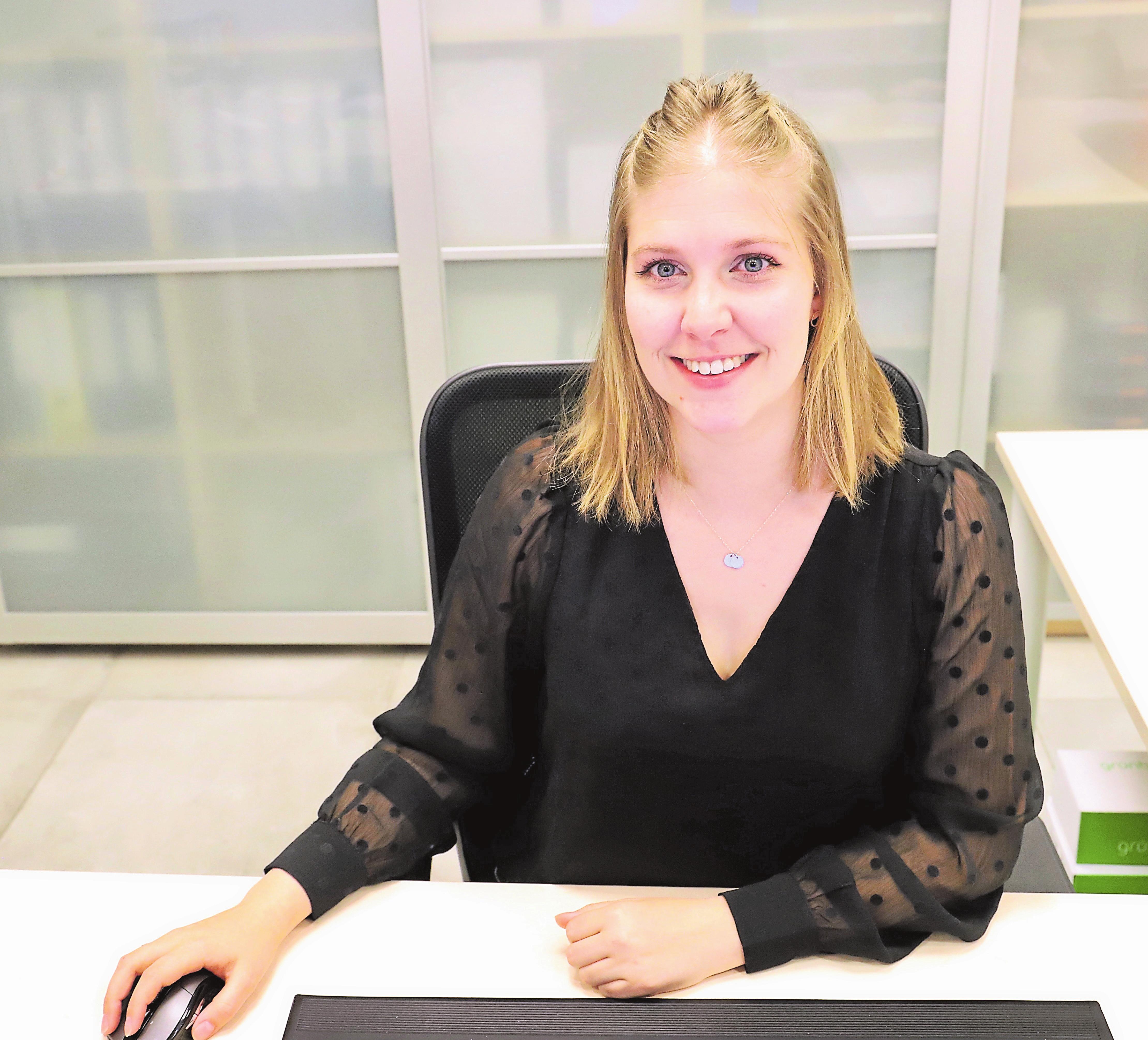 Jacqueline Bamberg ist der erste Kontakt für Kunden bei Fragen.