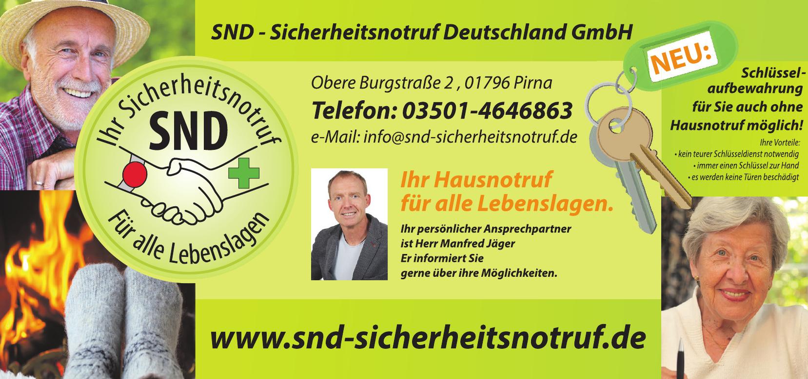 SND-Sicherheitsnotruf-Deutschland GmbH