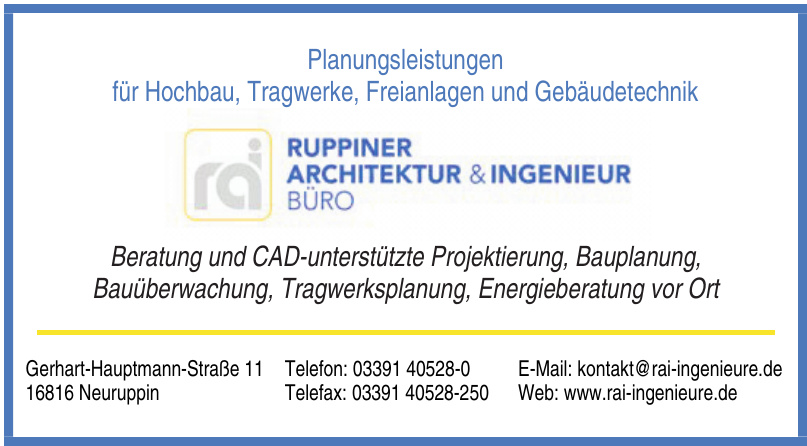 Ruppiner Architektur & Ingenieur Büro