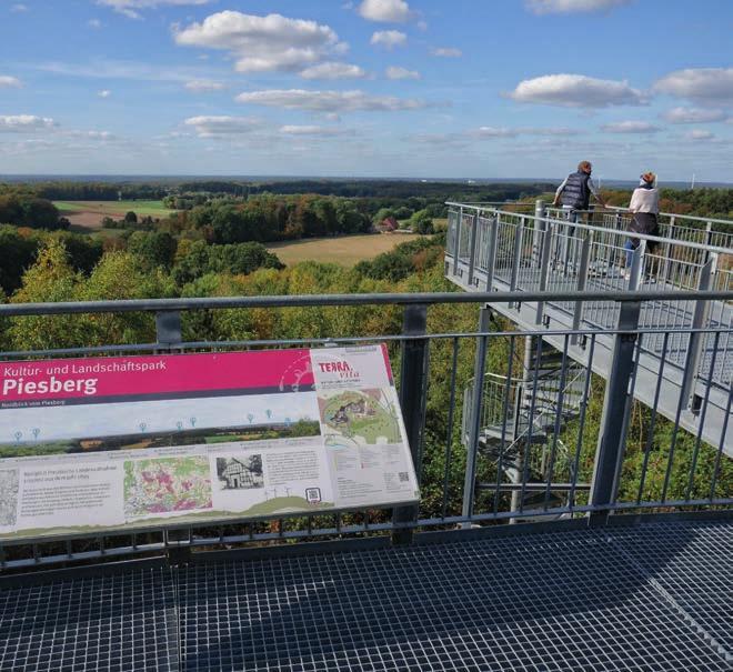 Ausblick von der Plattform Nord am Piesberg. Foto: Ingmar Bojes