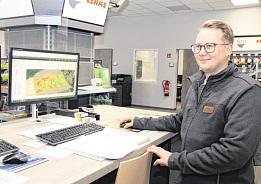 André Zauft ist bei BTD der Fachmann für die Digitalisierung der Landwirtschaft.