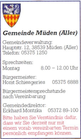 Gemeinde Müden (Aller)
