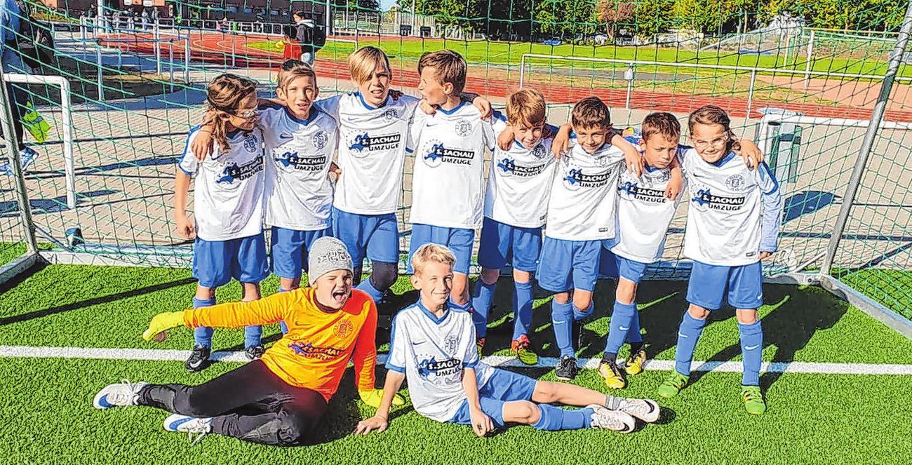 Die Fußball-E-Junioren des Vereins.