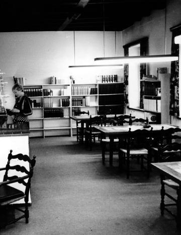 Übergangsdomizil: 1971 in den heutigen Museumsstuben. Foto: Archiv/Wendt