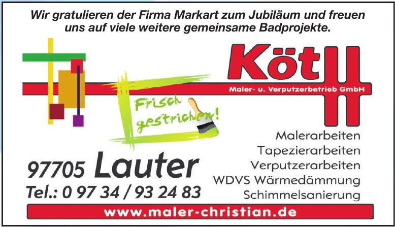 Köth Maler- und Verputzerbetrieb GmbH