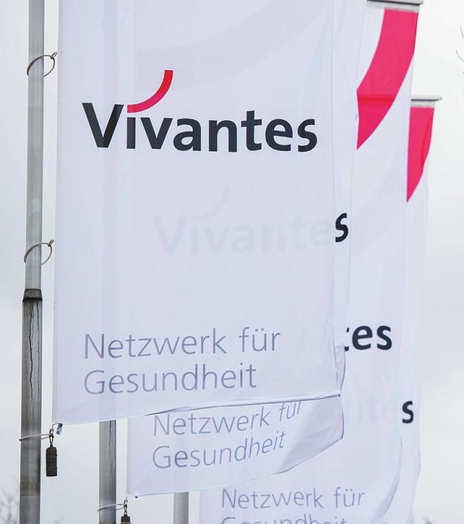 Platz 3: Der Gesundheitssektor boomt, also auch das Vivantes-Netzwerk mit jetzt 16.679 Mitarbeitern. FOTO: SILAS STEIN / DPA