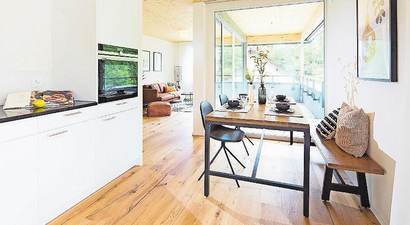 Die Wohnungen haben einen hochstehenden Innenausbau.