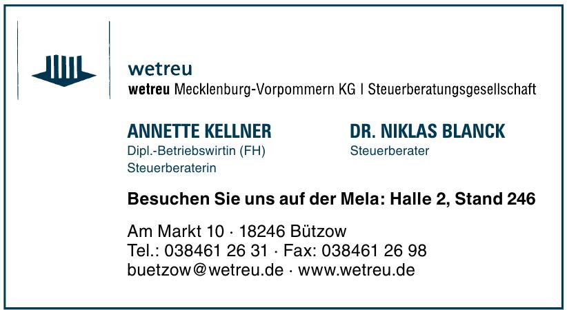 wetreu Mecklenburg-Vorpommern KG