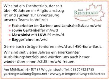 Gartengestaltung Reichhart