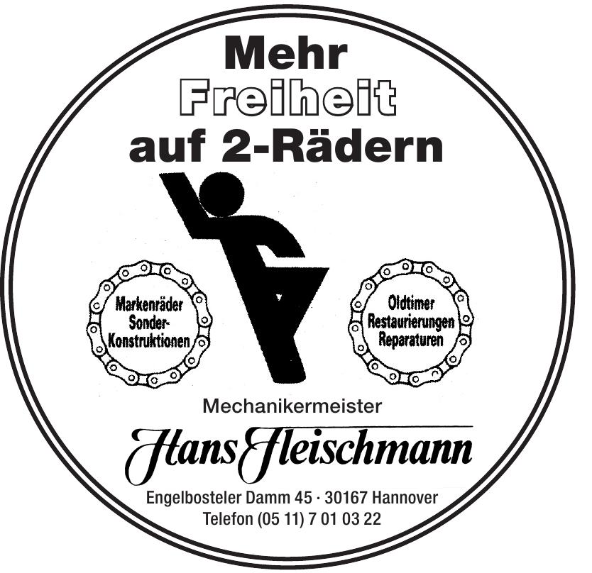 Hanz Fleischmann  Mechanikermeister