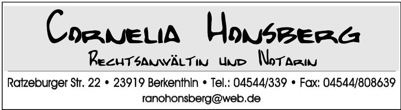 Cornelia Hansberg