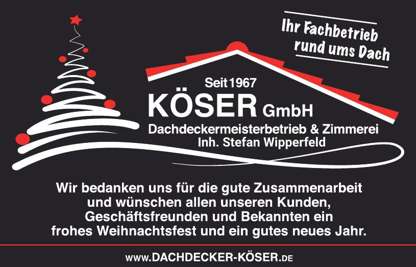 Köser GmbH Dachdeckermeisterbetrieb & Zimmerei