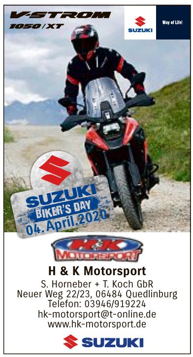 H&K Motorsport S. Horneber + T. Koch GbR
