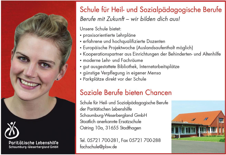 Schule der Paritätischen Lebenshilfe Schaumburg-Weserbergland GmbH