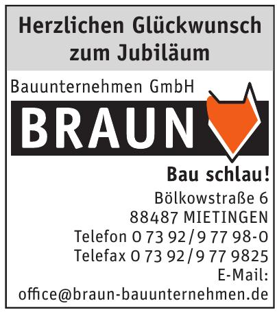 Bauunternehmen Braun GmbH