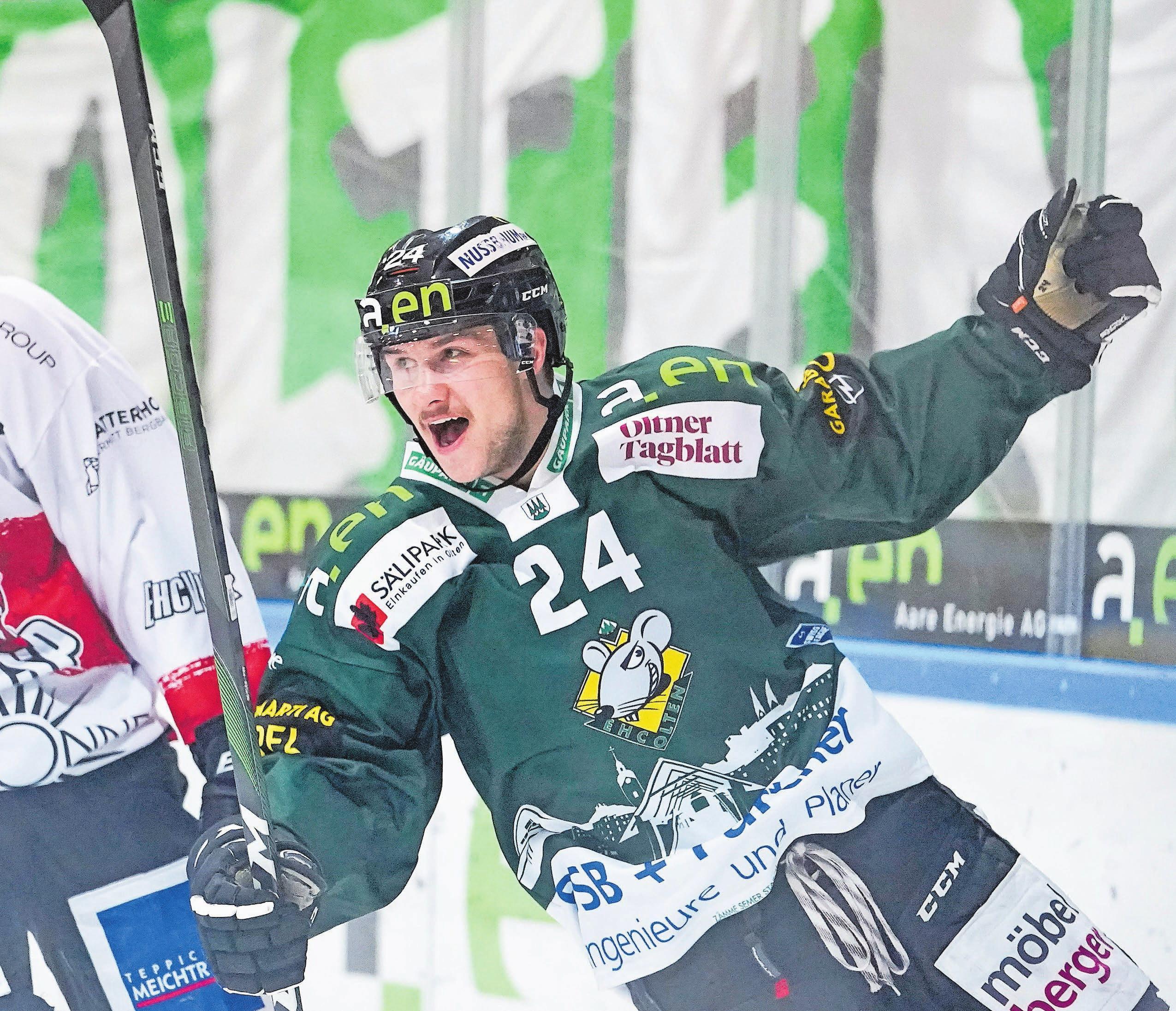 Keijo Weibel kennen die EHC-Olten-Fans vor allem vom Eis.