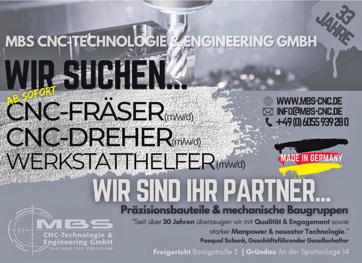 Mbs CNC-Technologie & Engineering GmbH