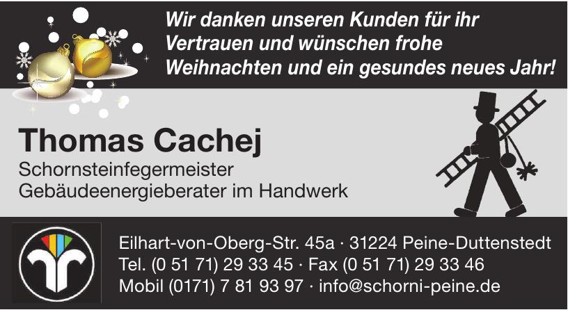 Thomas Cachej - Schornsteinfegermeister