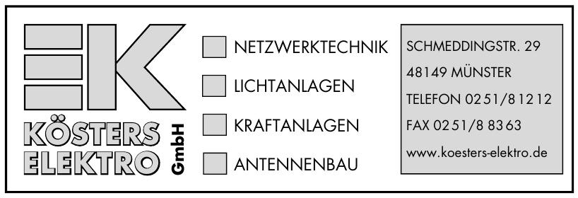 Kösters Elektro GmbH