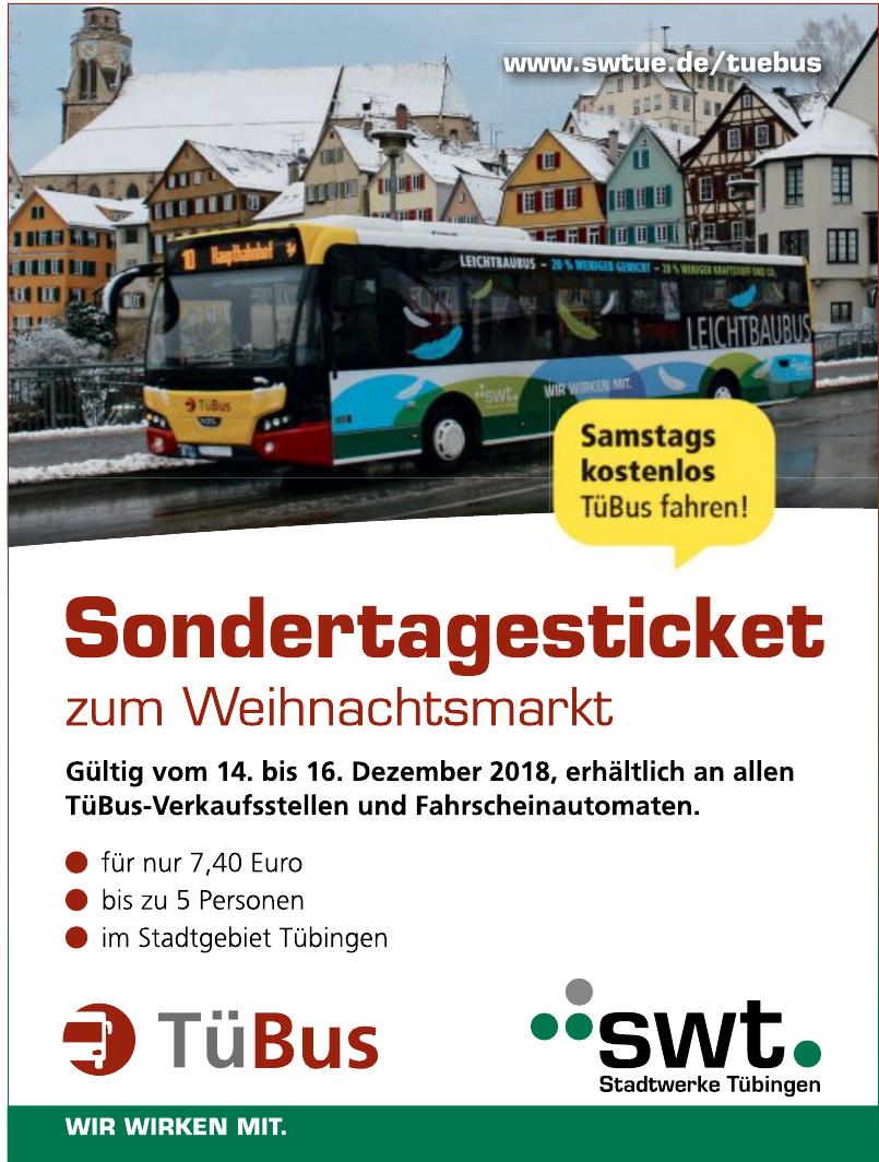 SWT Stadtwerke Tübingen - TüBus