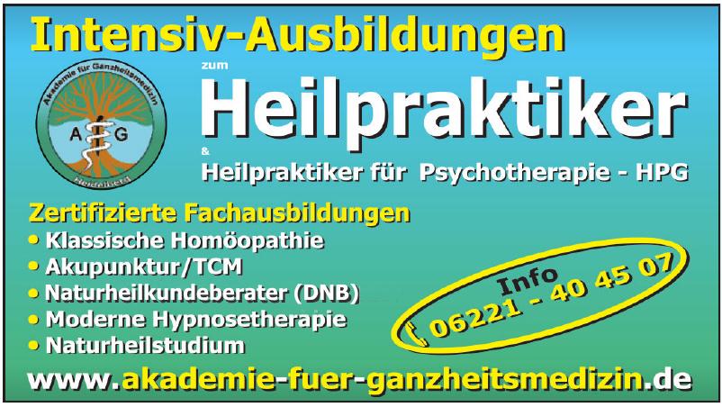 Akademie für Ganzheitsmedizin Heidelberg
