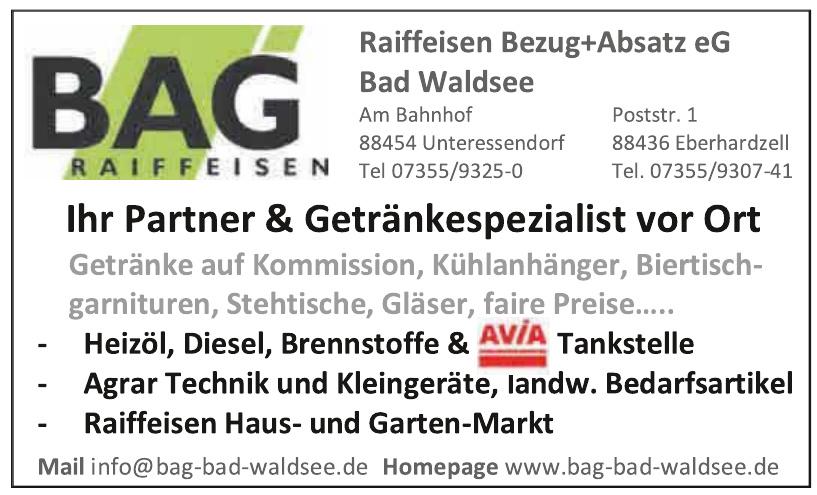Bag Raiffeisen Bezug + Absatz eG