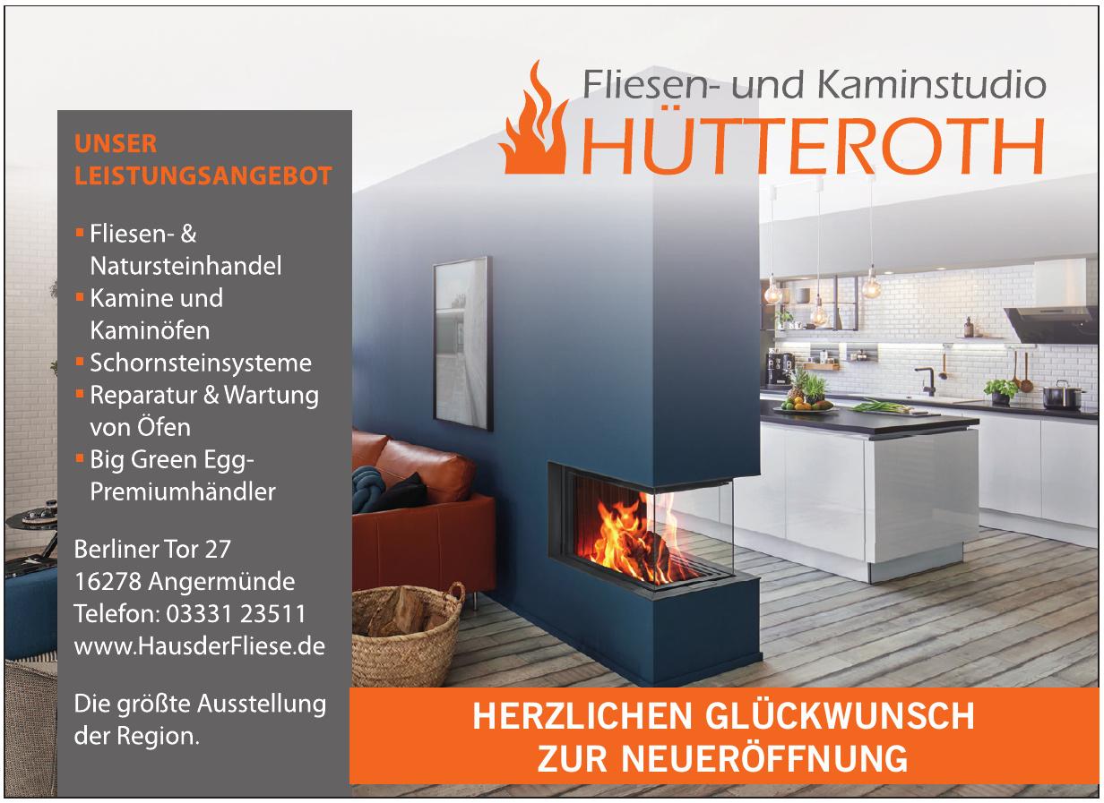 Fliesen- und Kaminstudio Hütteroth