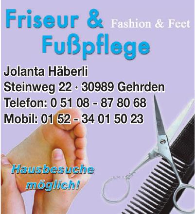 Friseur & Fußpflege Fashion & Feet