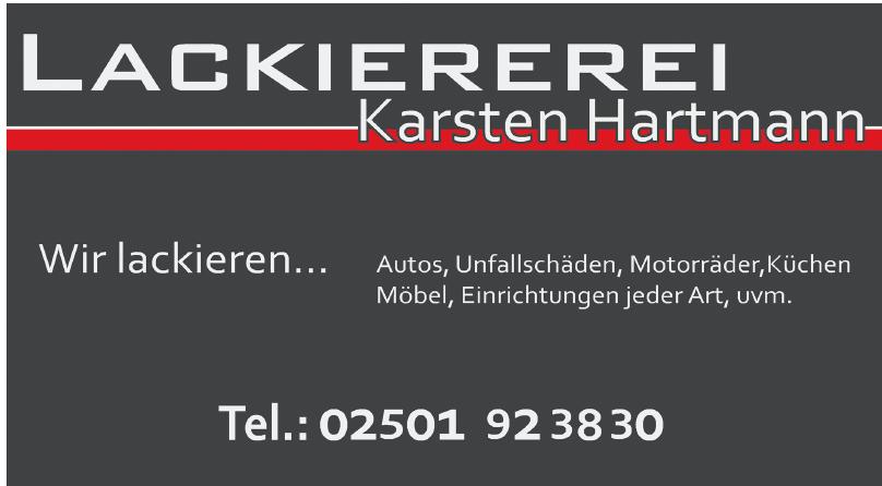 Lackiererei Karsten Hartmann