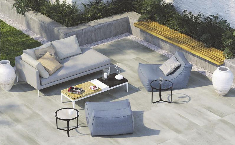 Für den Entspannungsort Terrasse gibt es exzellente Bodenbeläge.