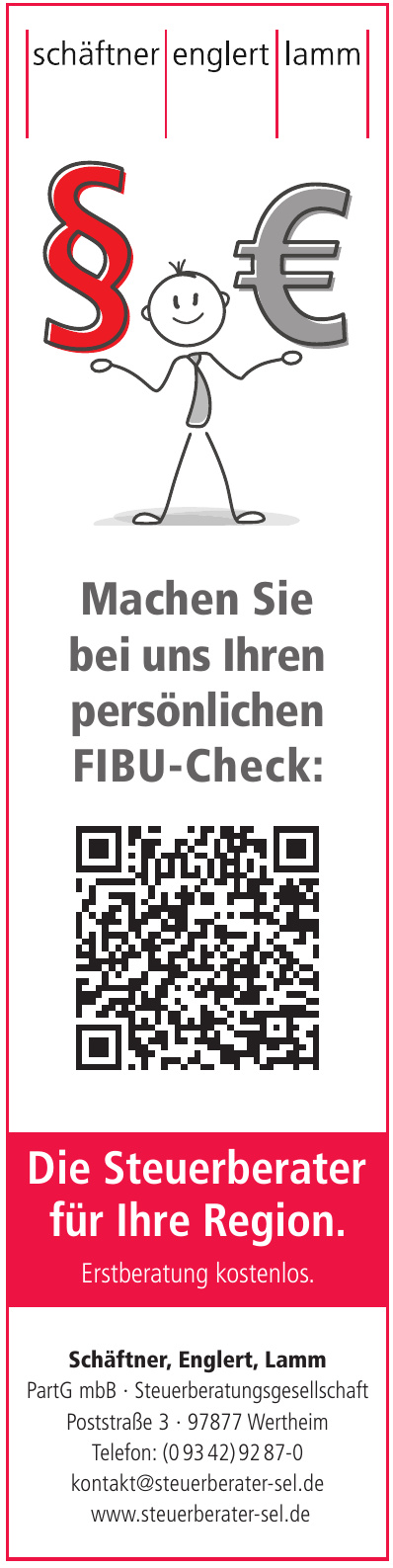 Schäftner, Englert, Lamm PartG mbB - Steuerberatungsgesellschaft