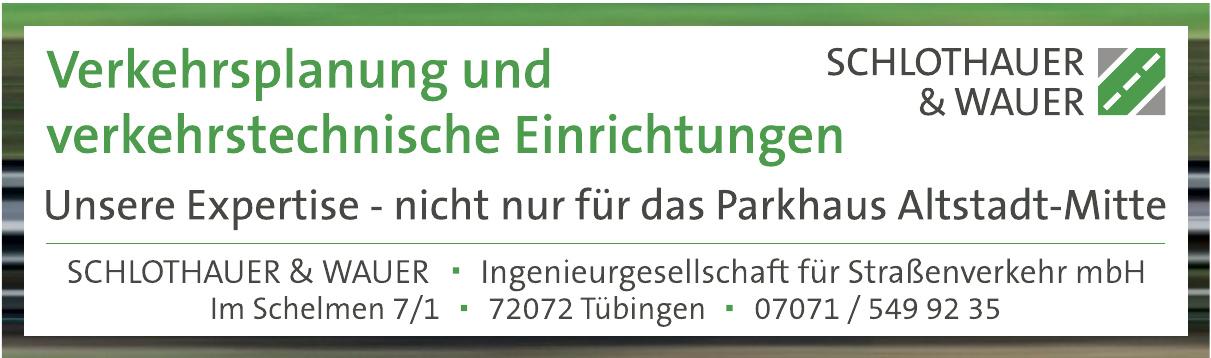 Schlothauser & Wauer Ingenieurgesellschaft für Straßenverkehr mbH