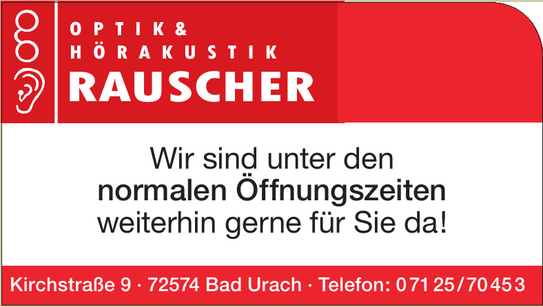 Optik & Hörakustik Rauscher