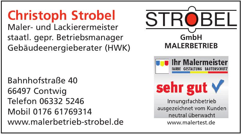 Christoph Strobel GmbH Maler- und Lackierermeister