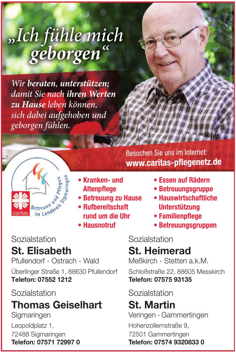 Caritas - Sozialstation St. Heimerad