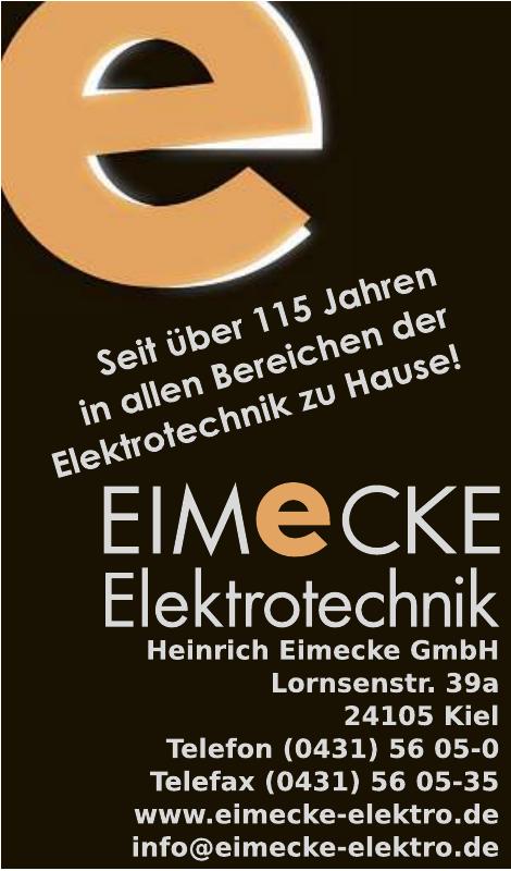 Eimecke Elektrotechnik Heinrich Eimecke GmbH