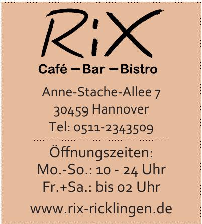 Rix Café - Bar - Bistro