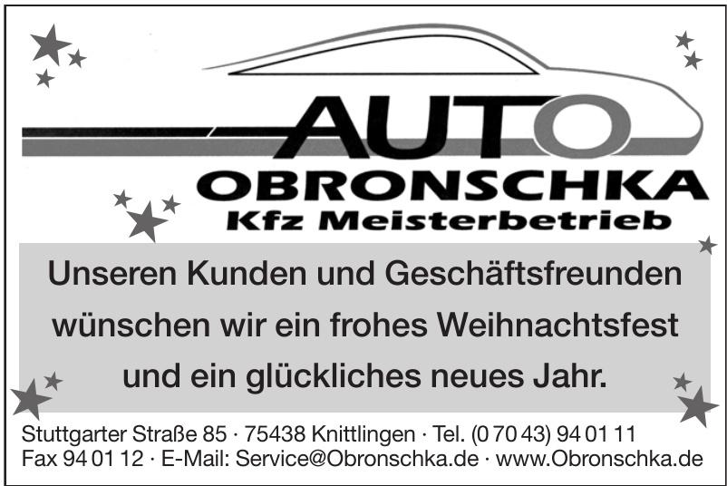 Auto Obronschka GmbH & Co KG