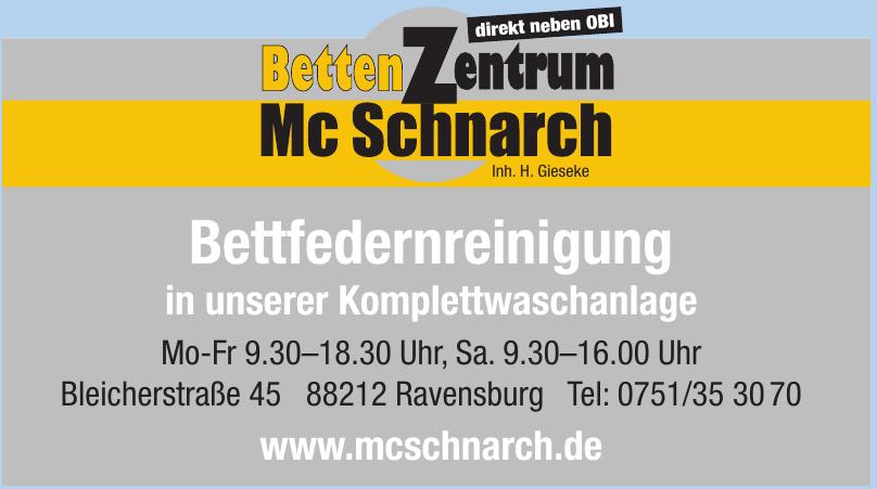 Betten Zentrum Mc Schnarch