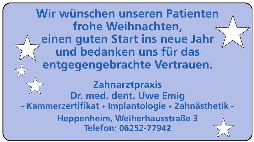 Zahnarztpraxis Dr. med. dent. Uwe Emig