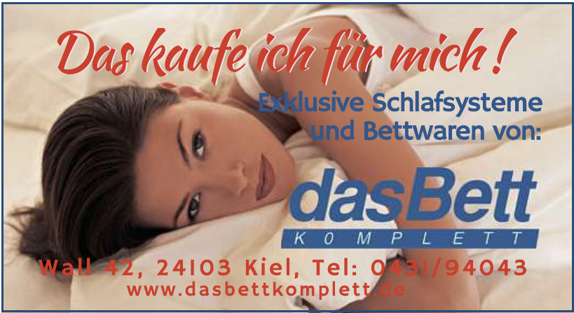 das Bett komplett Pachur GmbH & CO. KG