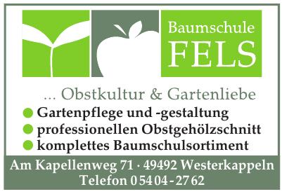 Baumschule Fels